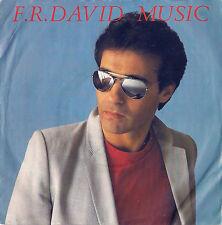 DISCO 45 GIRI        F.R. DAVID - MUSIC // GIVIN' IT UP