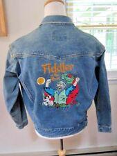 VTG Musical Theater ~Fiddler On The Roof~ Embroidered Men's Trucker Jacket Sz LG