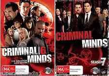 Criminal Minds Season 6 & 7 -  NEW DVD