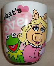 Disney mugs - The Muppets - Miss Piggy and Kermit What's not to Love Mug - New