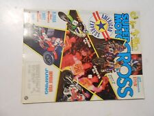 MARCH 1989 SUPER MOTOCROSS MAGAZINE,500 SHOOTOUT CR,KTM,KX,JEFF STANTON,FLORIDA