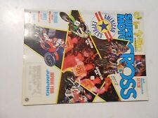MARCH 1989 SUPER MOTOCROSS MAGAZINE,500 SHOOTOUT CR,KTM,KX,JEFF STANTON,FLORIDA