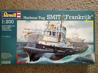 Vintage Revell model kit harbour tug boat