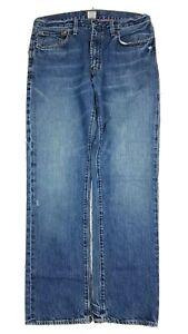 J. Crew Men's Vintage Slim Mid Rise Blue Jeans 30x30