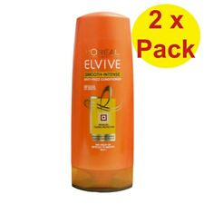 2 x LOREAL ELVIVE 325mL ANTI FRIZZ CONDITIONER #SMOOTH INTENSE