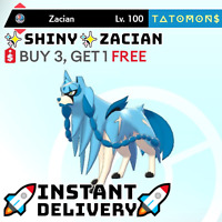 POKEMON SWORD AND SHIELD ✨SHINY✨ ZACIAN 6IV 🚀Instant Delivery🚀