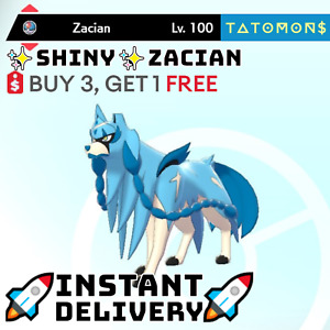 EVENT POKEMON SWORD AND SHIELD ✨SHINY✨ ZACIAN 6IV 🚀Instant Delivery🚀 Legit
