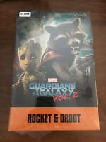 IRON STUDIOS Guardians of the Galaxy Vol. 2 Rocket & Baby Groot 1:10 BDS Statue