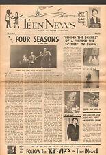 original USA Pop / Teen Magazine: Teen News Vol.1 No.1  (June 1965) 4-seitig