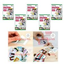 5 Packs FujiFilm Fuji Instax Mini Film,50 Instant Photo Mini 9 8 7s 90 100