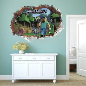 Children Wall Stickers 3D Nursery Kids Boy Room Decals UK  W1