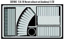Eduard 1/32 F/A-18 Hornet exhaust set for Academy kit # 32105