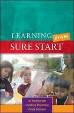 Learning from Sure Start: Working with Young Children and their-ExLibrary