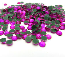 Hot 800pcs 3MM Round Iron On Hotfix Crystal Rhinestones 19 Color Pick