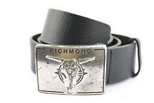 John Richmond B208 Leder Gürtel Leather Belt Ledergürtel Herren-accessoires