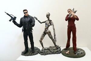 Terminator 3: Rise of the Machines T-850 Terminator Set Of 3 Action Figures 2003