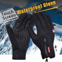 UK UNISEX WINTER WARM WINDPROOF WATERPROOF ANTI-SLIP THERMAL TOUCH SCREEN GLOVES