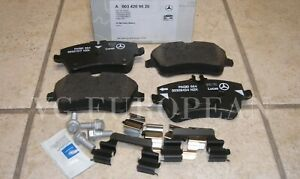 Mercedes CLK-Class Genuine Front Brake Pad Set,Pads CLK320 CLK350 NEW
