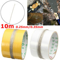 10M DIY Diamond Cutting Wire Saw Blades for Metal Emery Jade Glass Rock Stone