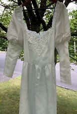 Gunne Sax Full Length Robin Egg Blue Gown Juniors Size 13