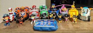 Paw patrol toys lot
