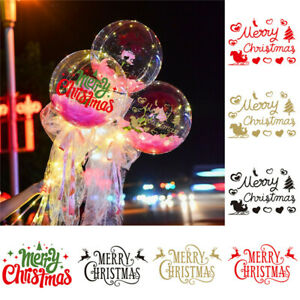 Large Balloon Christmas Stickers Merry Christmas Sticker Balloons Decoration🔥🔥