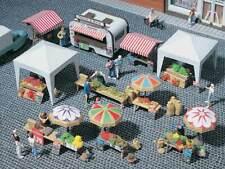 Vollmer 45141 H0 Deko-Set Wochenmarkt