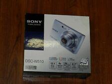New Open Box - Sony Cyber-Shot DSC-W510 12.1 MP Camera - SILVER - 027242265172