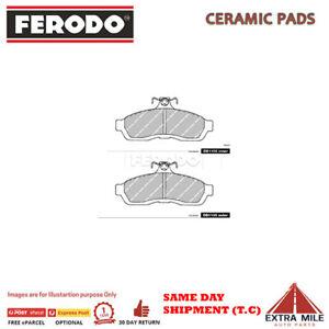 FERODO TQ BRK PADS FRNT for NISSAN SKYLINE #R31 1986-1990 3.0L 6cyl DB1105FTQ