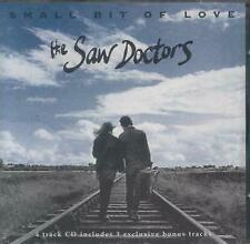 SAW DOCTORS Small Bit of Love CD UK Shamtown 1994 4 Track With Info Stickered