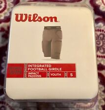 Boys Youth Wilson Small Integrated Impact Padding Football Girdle Nwob