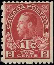 Canada #MR5 mint F OG NH 1916 King George V Admiral 2c carmine War Tax CV$60.00