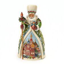 Jim Shore RUSSIAN SANTA FIGURINE 4017650 Grandfather Frost Around The World