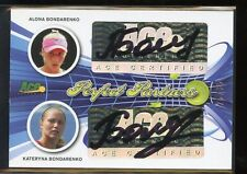 Ace Authentic Signature Tennis DUAL AUTO - ALONA/KATERYNA BONDARENKO #25/35