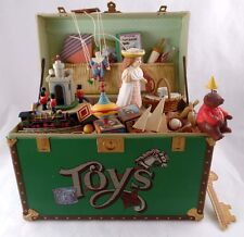 Vintage Enesco Toy Symphony Music Box w / Instruction Key