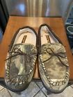Realtree Camouflage Slippers Men's Size L 9.5/10.5 Insulated Comfort RN 129919