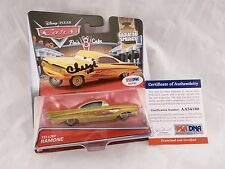 Cheech Marion RAMONE Cars Signed Autographed Diecast Car Disney PSA Certified