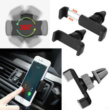 Universal 360°Rotating Car Air Vent Mount Cradle Holder For Mobile Phone GPS FG