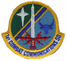 1st Combat Communication Squadron Rammstein 3 inch Hat Shoulder Patch F1D10D