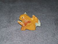 "STONE CARVED SQUIRREL 2.25"" x 3"" MULTI-COLORED"