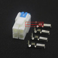 1 Set 4pin Power Connector/Plug For YAESU ICOM KENWOOD IC-7000 FT-450 TS-480