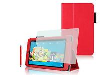 Custodia per Amazon Kindle Fire HD 6 (2014) - Rosso + Pennino + Pellicola