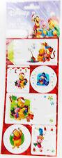 Disney Winnie The Pooh Tigger Eeyore Piglet Christmas Gift Tags