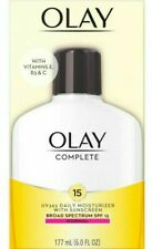 OLAY Complete Daily Face Lotion Moisturizer for Normal Skin SPF 15 UVA/UVB 6-oz