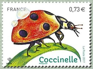 France 2017 insects insecto Insekt ladybug mariquita Marienkäfer coccinelle 1v