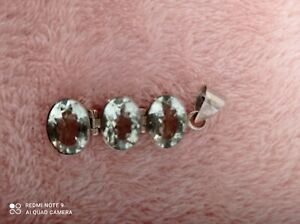 Green amethyst pendant. Beautiful piece.
