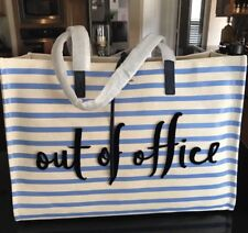 """KATE SPADE California Dreaming """"Out of Office"""" X-Large Tote Bag Shoulder Bag NWT"""
