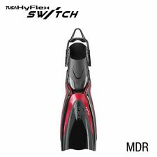 TUSA SCUBA DIVING FINS HYFLEX SWITCH SF0104 MDR SIZE XS (34-38)
