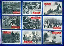 1965 PHILADELPHIA WAR BULLETIN COMPLETE 88 CARD SET WORLD WAR II