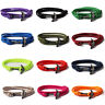 Handmade Men's Black Alloy Anchor Polyester Rope Wristband Bracelet Jewelry NEW